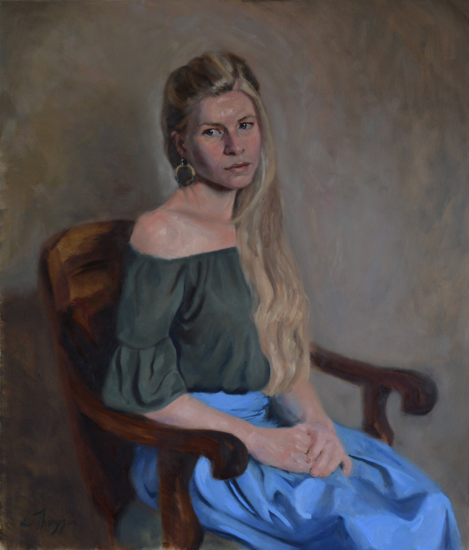 Portrait of Ruth Fitton