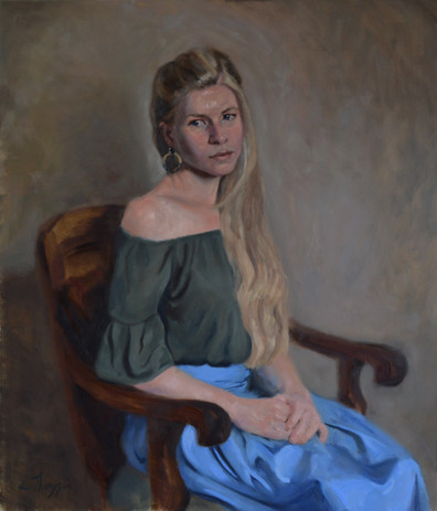 Portrait of Ruth Fitton