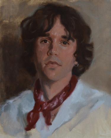 Portrait study of Rob