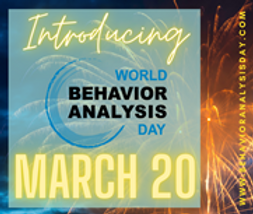World Behavior Analysis Day 3/20 Announcement Image