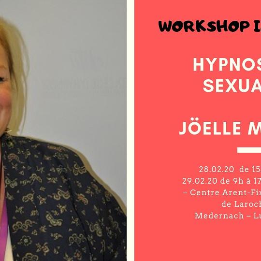 Workshop : Hypnose et sexualité - Joëlle Mignot