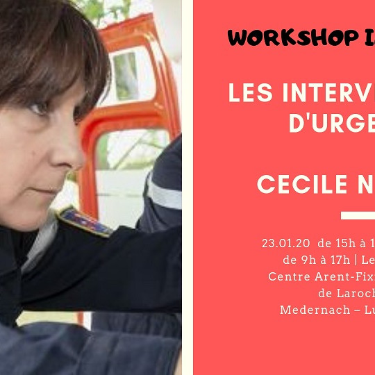 Workshop : Les interventions d'urgence - Cécile Nguyen