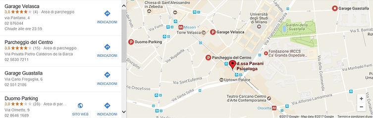 parcheggi zona Missori