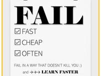 Fallire: perché dovremmo imparare a cadere