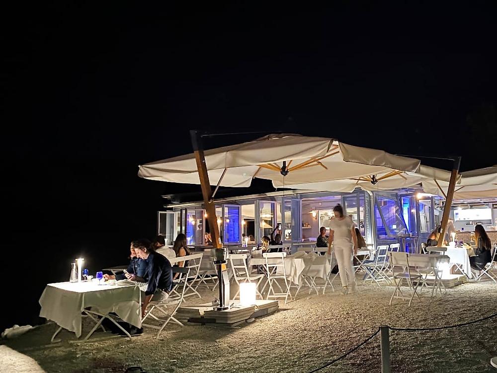 Clandestino Susci Bar alla sera