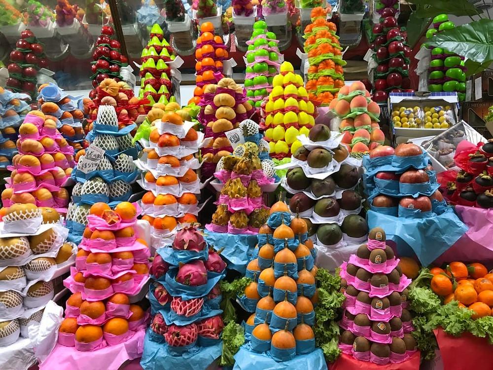Frutta brasiliana al mercato municipale di San Paolo