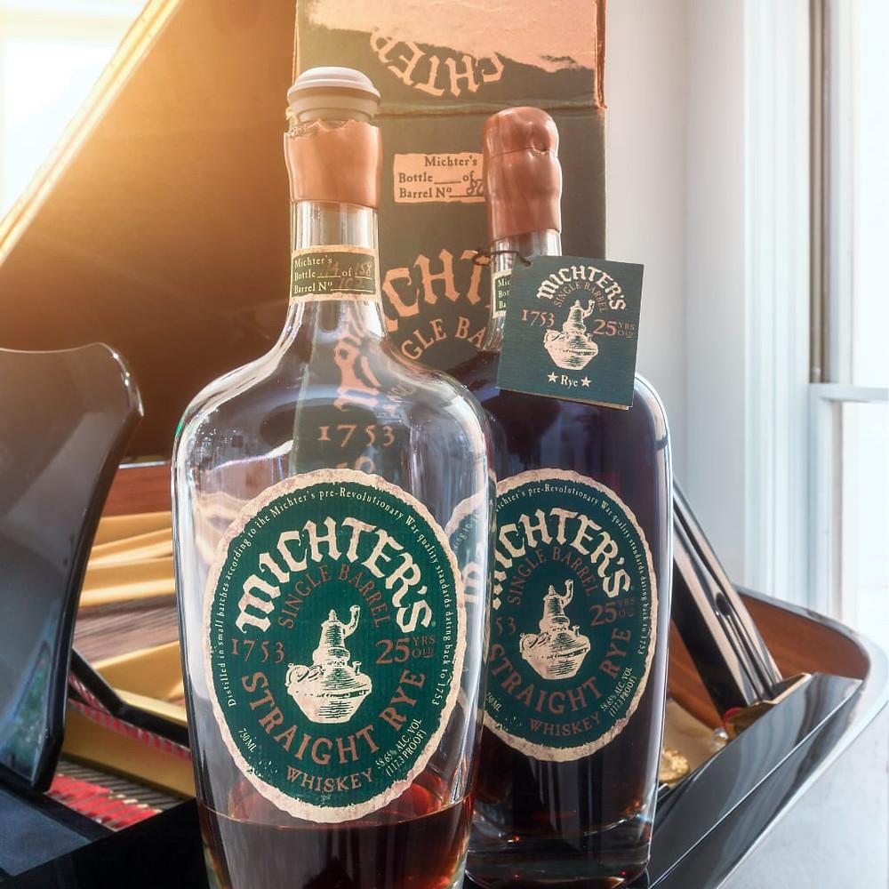 Due bottiglie storiche di Bourbon Michter's