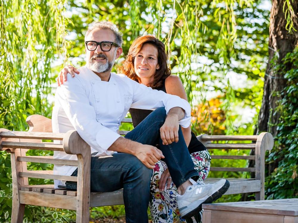 Massimo Bottura e Lara Gilmore