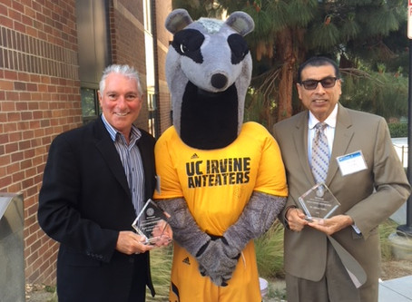 UC Irvine honors professor and Higher Ground board member DR.Al valdez