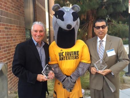 UC Irvine honors professor and Higher Ground board member DR.Al valdez
