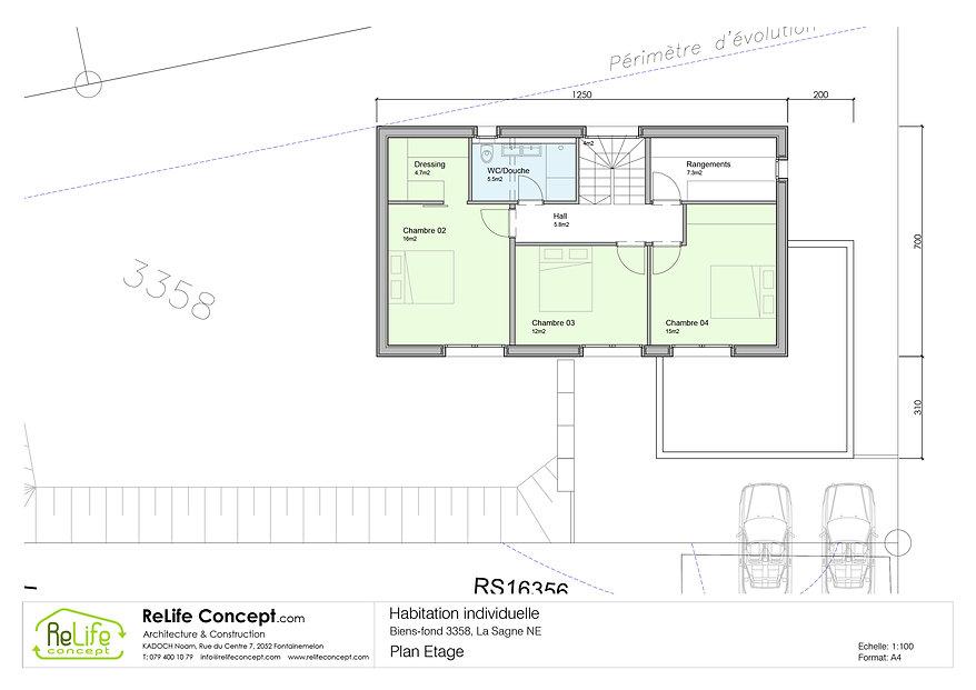 La Sagne - Vente villa 01 - Etage - 01.j