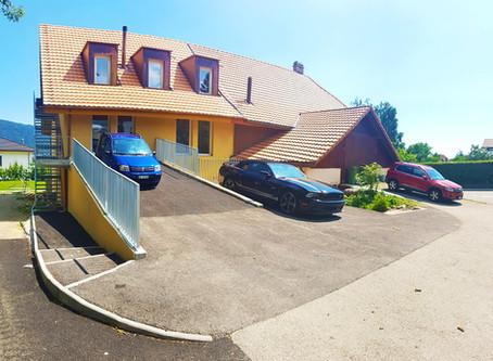 Rénovation d'une ancienne grange en 2 appartements à Fontaines NE
