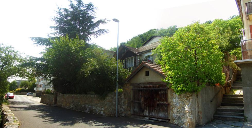 Ancienne maison avant démolition