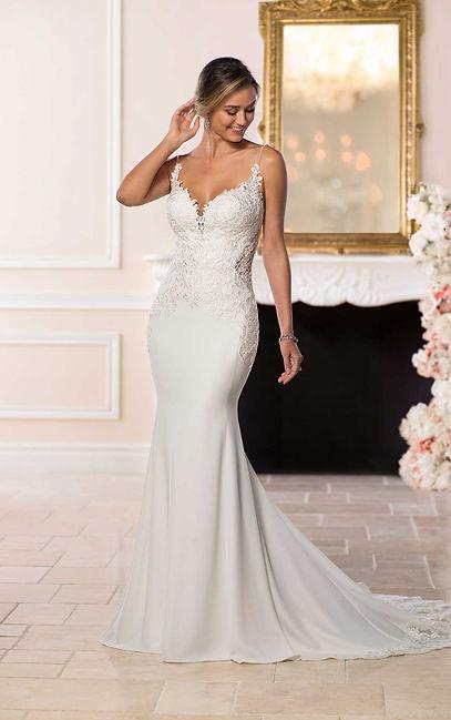 vestido de novia sexy y moderno