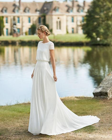 vestidos de novia sencillos mallorca
