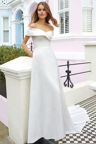 vestido de novia sencillo en mallorca