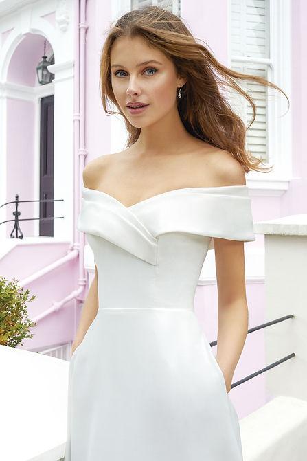 vestido de novia elegante mallorca