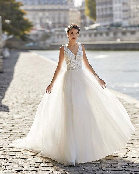 vestido de novia estilo princesa mallorca