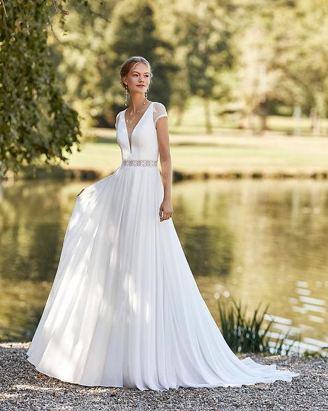 Vestido de novia sencillo Mallorca