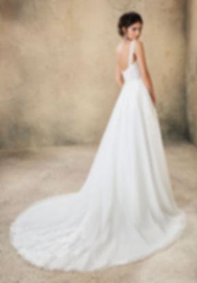 vestido de novia corte A en mallorca