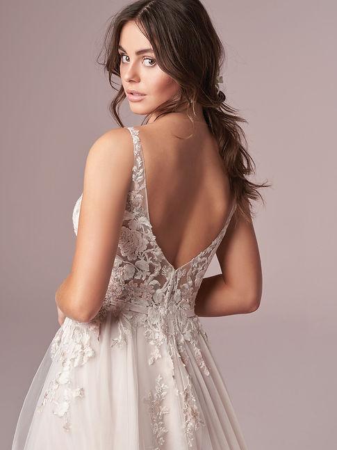 vestido de novia color en mallorca