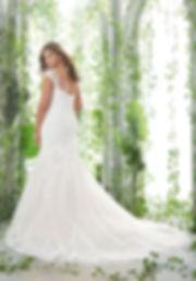 vestido de novia sirena talla grande