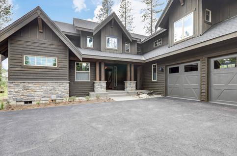 Classic rustic new home in dark grey woo