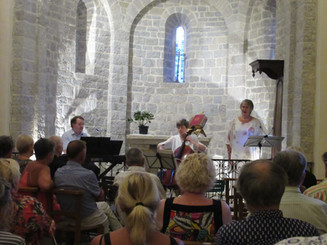 Ridgeway Ensemble at Laroque, France
