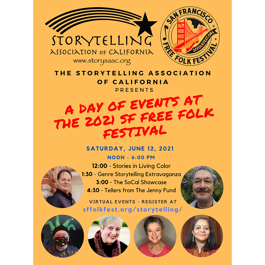 A Day of Events at The 2021 SF Free Folk Festival