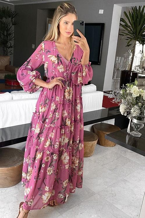 Vestido Floral Maxi