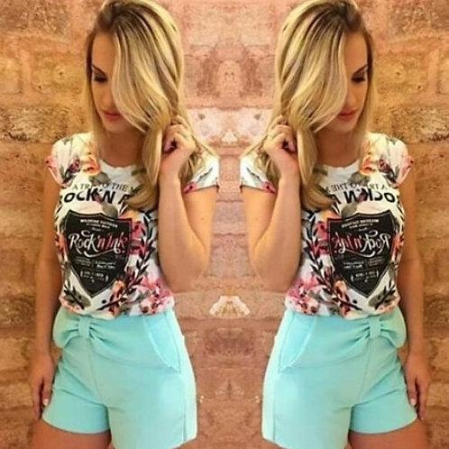 Shorts Laço