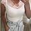 Thumbnail: Blusa em malha canelada com renda