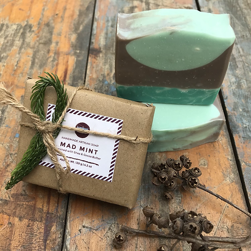 Mad Mint | Handmade Soap Bar