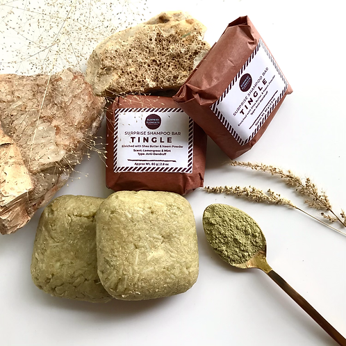 Tingle Shampoo Bar | Enriched with Neem & Tea Tree oil to fight Dandruff