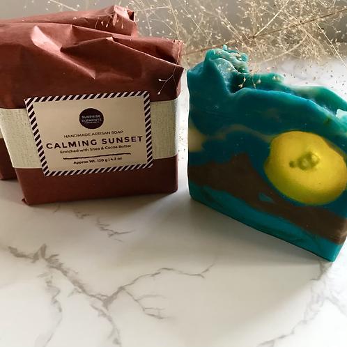 Calming Sunset   Handmade Artisan Soap