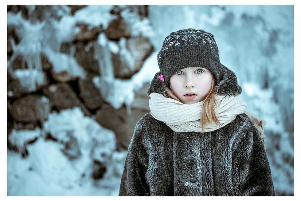 Błękit zimy...i jej spojrzenia