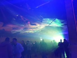 the dancefloor in the big hall