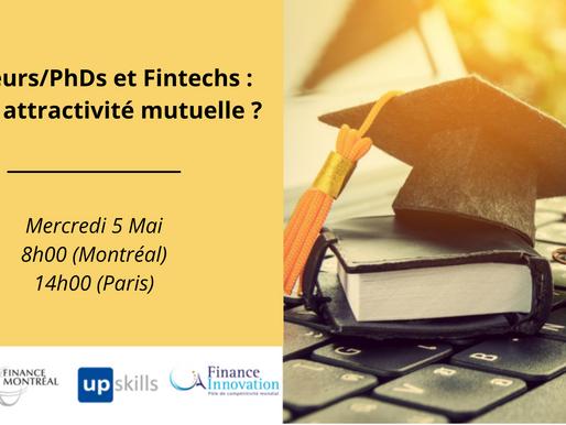 Webinaire Finance Innovation x Finance Montréal x Adoc Talent Management le 5 mai