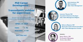 PhD Career Development: A Transatlantic Webinar for Supervisors