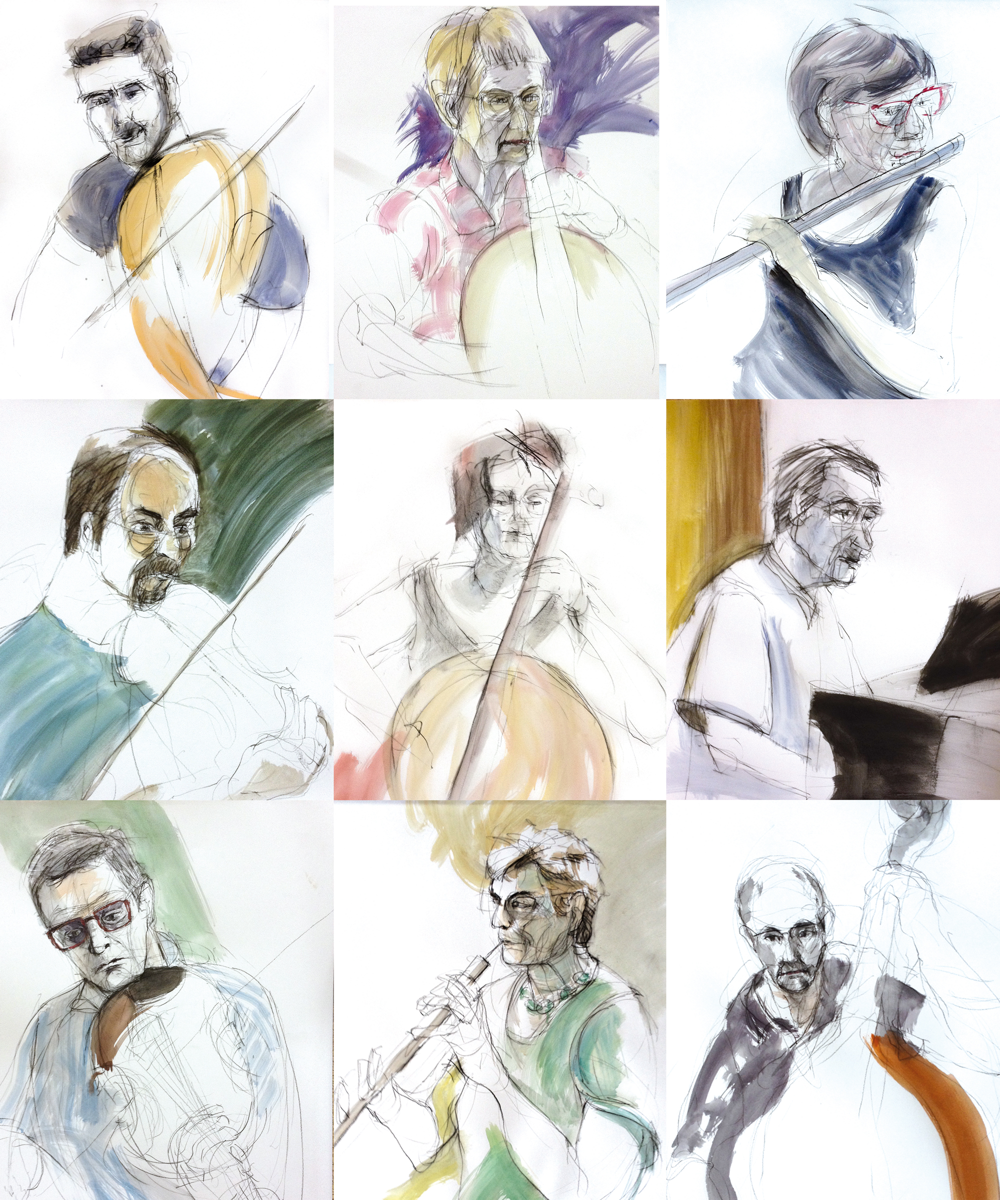Portraits Nanteuil