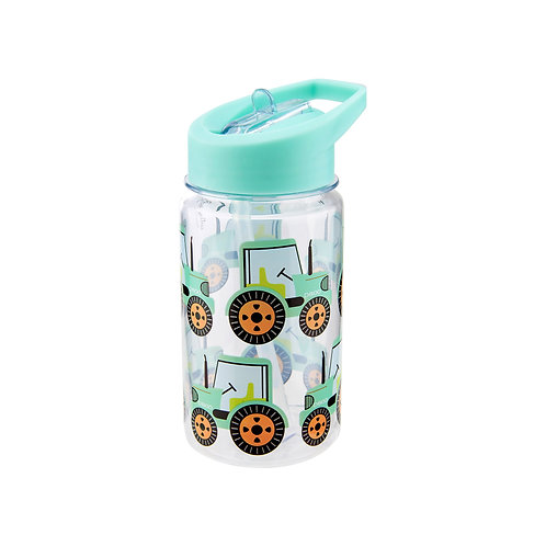 Tractors Drink Up Water Bottle