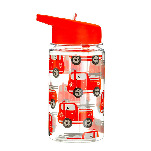 Drink Up Fire Engine Water Bottle
