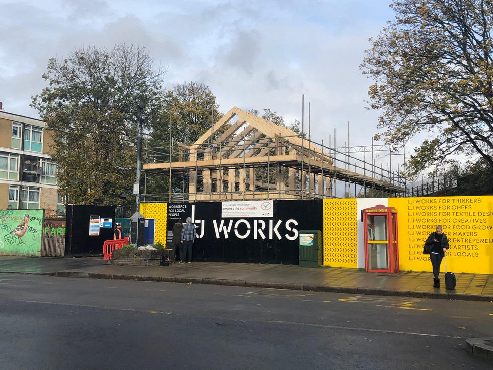 LJ Works | Affordable office space | Kitchen | Workspace | Loughborough Junction, Lambeth