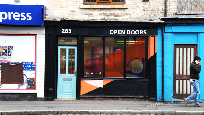 Open Doors | Bradford, Kettering, Rochford, Slough & Stoke-on-Trent | Community Space