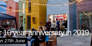 Join us to celebrate our 10 year anniversary on the 27th of June!