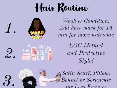 The Healthy Hair Routine