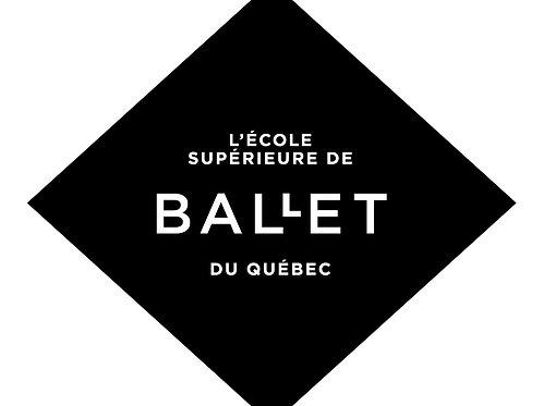 Certificat cadeau École supérieure de ballet du Québec