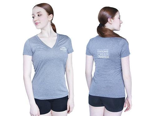 T-shirt gris Femme - École supérieure