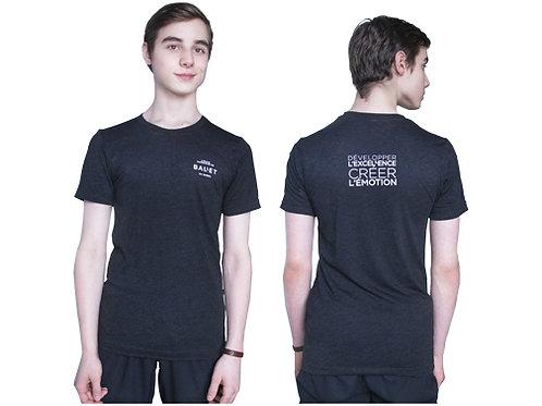 T-shirt noir Homme - École supérieure