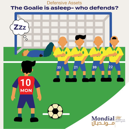 The Goalie is asleep- who defends?